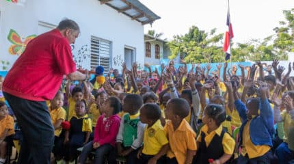 a German Magician in Sabanetas Journey into hope